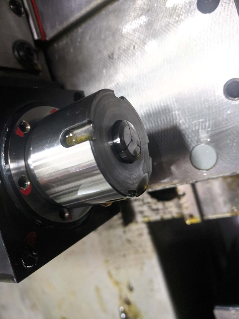 Tiny Part in Sub-Spindle