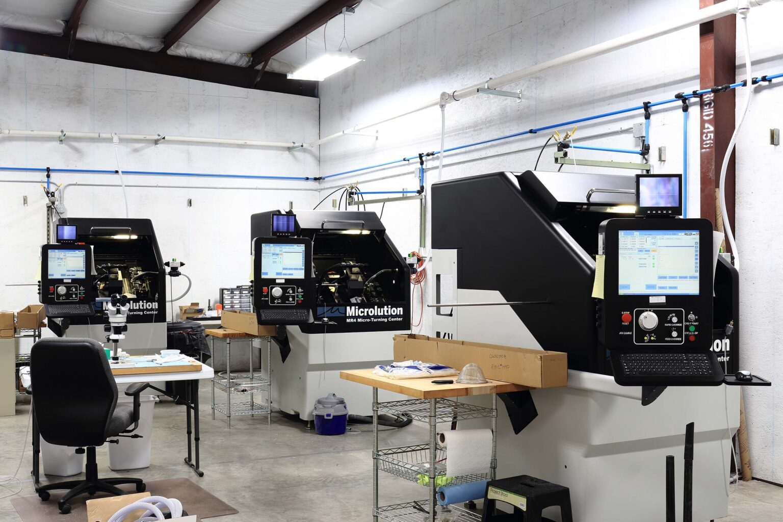 Micro-Lathes for Dry Machining